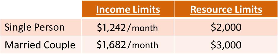 SSI 2020 Limits