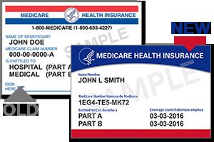 Medicare cards 2018